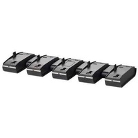 SPARE CHARGER BASE, 5 UNITS, 3 PINS, SAVI 82XX