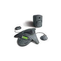 Polycom SoundStation VTX 1000 conference phone includes Subwoofer and VTX ex Mics