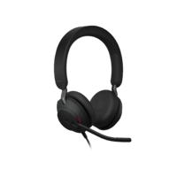 Jabra Evolve2 40 - Black - MS Stereo USB-A
