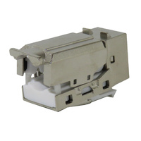 90 Degree Cat6A Shielded Keystone Jack