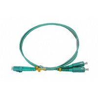 LC-SC OM3 DX Multi Mode Fibre Patch Lead - 10M