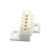 5 pair disconnect module, screw mount