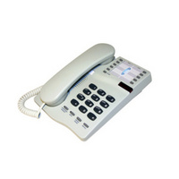 Interquartz Gemini IQ333 Analogue Phone (Cream)