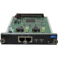 Panasonic NCP500/1000 BRI2 2-Port Basic Rate ISDN Line Card (KX-NCP1280) - Used