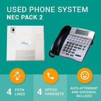NEC Axis Package with 3 Handsets