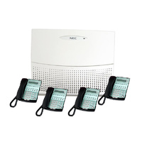 NEC Topaz Phone System Package with 4 Handsets