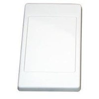 Blank wall plate Clipsal (2000 series style)