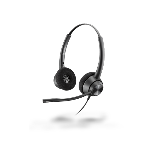 EncorePro EP320, Binaural Quick Disconnect Corded Headset top