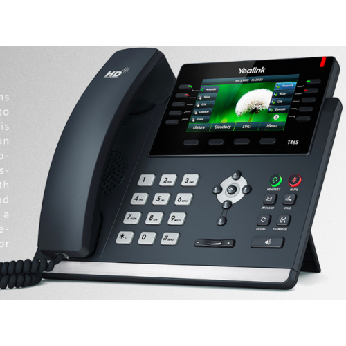 SIP-T46S Gigabit IP Phone